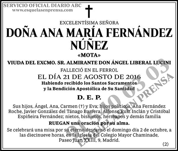 Ana María Fernández Núñez